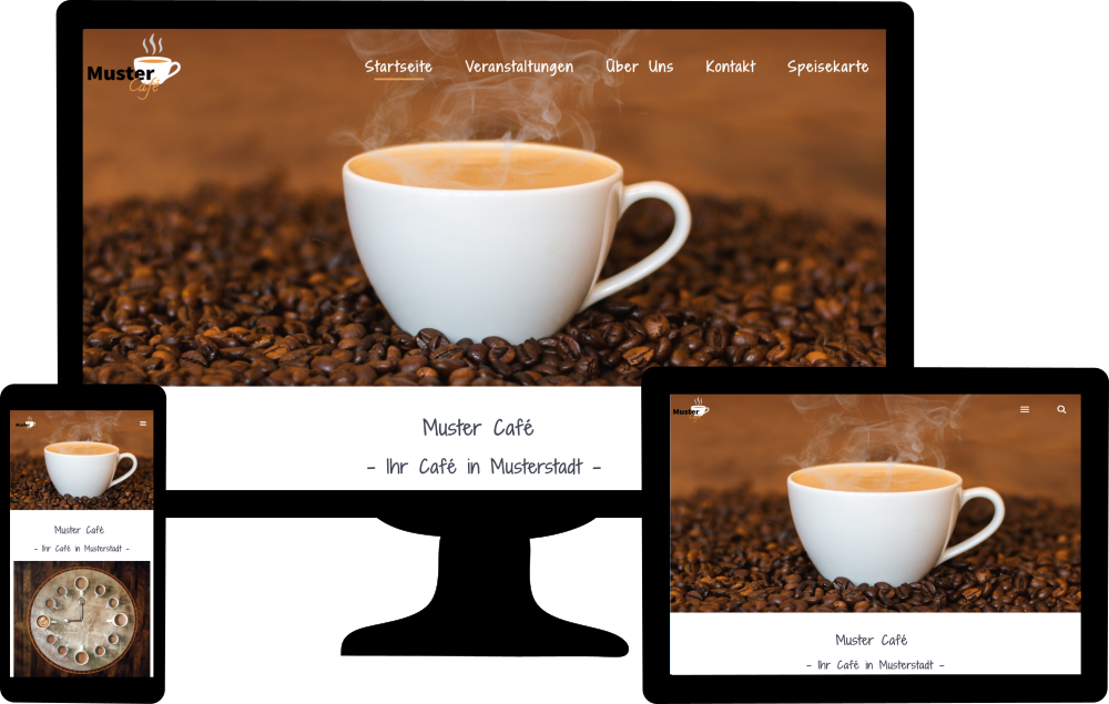 Website Arten - Klassische Unternehmenswebsite