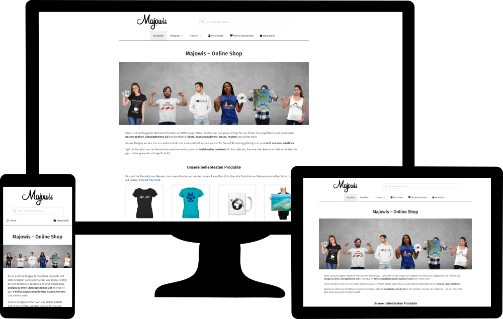 Website-Typ Shop